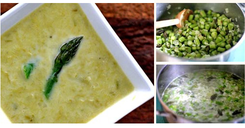 Asian Asparagus Soup
